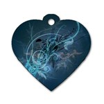 wallpaper_22774 Dog Tag Heart (One Side)