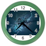 wallpaper_22774 Color Wall Clock