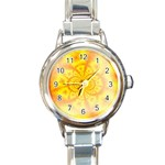 yellowdesign Round Italian Charm Watch