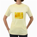 yellowdesign Women s Yellow T-Shirt