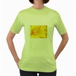 yellowdesign Women s Green T-Shirt