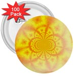 yellowdesign 3  Button (100 pack)