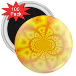 yellowdesign 3  Magnet (100 pack)