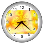 yellowdesign Wall Clock (Silver)