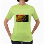 7 Women s Green T-Shirt