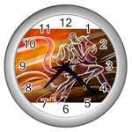 7 Wall Clock (Silver)