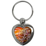 7 Key Chain (Heart)
