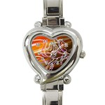 7 Heart Italian Charm Watch