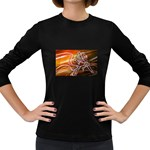 7 Women s Long Sleeve Dark T-Shirt