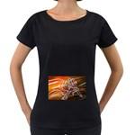 7 Maternity Black T-Shirt