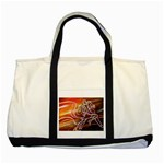 7 Two Tone Tote Bag