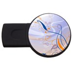 6 USB Flash Drive Round (1 GB)