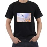 6 Black T-Shirt (Two Sides)