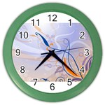 6 Color Wall Clock