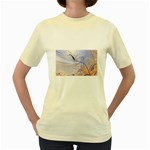 6 Women s Yellow T-Shirt