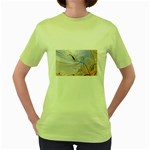 6 Women s Green T-Shirt