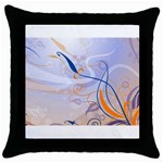 6 Throw Pillow Case (Black)