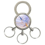 6 3-Ring Key Chain