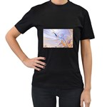 6 Women s Black T-Shirt