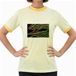 5 Women s Fitted Ringer T-Shirt