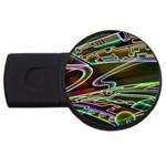 5 USB Flash Drive Round (1 GB)