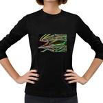 5 Women s Long Sleeve Dark T-Shirt