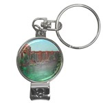Palace of Fine Arts Nail Clippers Key Chain
