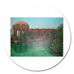 Palace of Fine Arts Magnet 5  (Round)