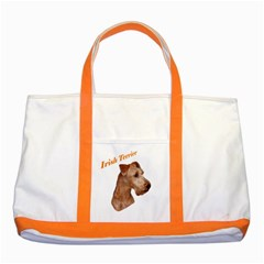Irish Terrier Two Tone Tote Bag from UrbanLoad.com Front
