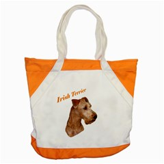 Irish Terrier Accent Tote Bag from UrbanLoad.com Front