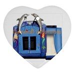 Inflatable-Dolphin-Slide-Combo-GC-4- Ornament (Heart)