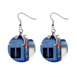 Inflatable-Dolphin-Slide-Combo-GC-4- 1  Button Earrings