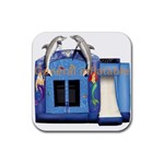 Inflatable-Dolphin-Slide-Combo-GC-4- Rubber Coaster (Square)