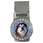 Alaskan Malamute Dog Money Clip (CZ)