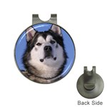 Alaskan Malamute Dog Golf Ball Marker Hat Clip