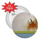 Wedding Orchid 2.25  Button (10 pack)