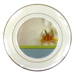 Wedding Orchid Porcelain Plate