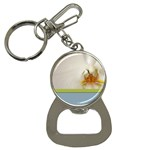 Wedding Orchid Bottle Opener Key Chain