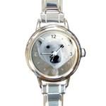 Fabulous Polar Bear Round Italian Charm Watch