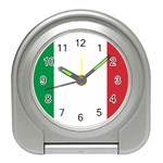 Italian Flag Travel Alarm Clock