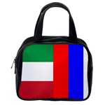 Italian & Russian Flag Classic Handbag (One Side)