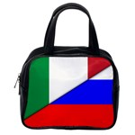 Italian & Russian Flag (diag) Classic Handbag (One Side)