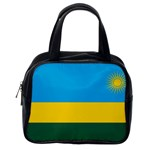 Rwandan Flag Classic Handbag (One Side)