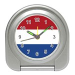 Dutch (Netherlands) Flag Travel Alarm Clock