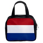 Dutch (Netherlands) Flag Classic Handbag (Two Sides)