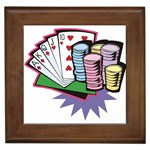 Poker D5 Framed Tile