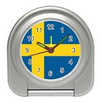 Swedish Flag Travel Alarm Clock