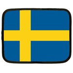 Swedish Flag Netbook Case (Large)