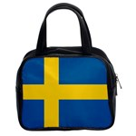 Swedish Flag Classic Handbag (Two Sides)