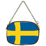 Swedish Flag Chain Purse (One Side)